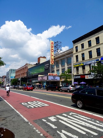 Road at Harlem Editorial