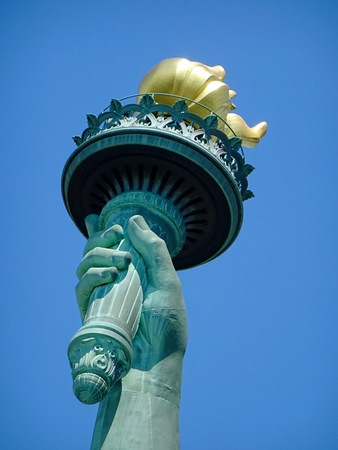 torch of the Statue of Liberty