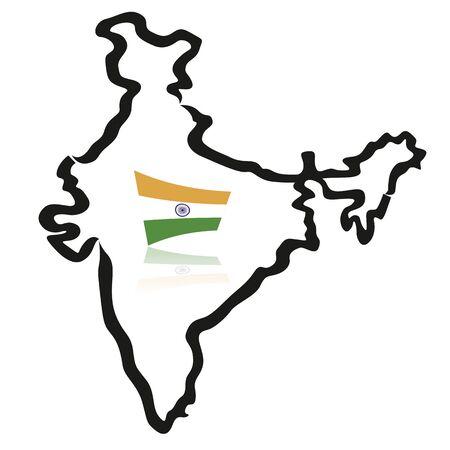インド マップ、フラグの概要