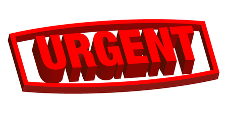Urgent! label stress