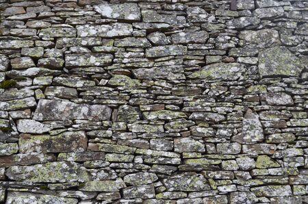 花崗岩の石の壁