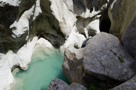 Verdon canyon 版權商用圖片