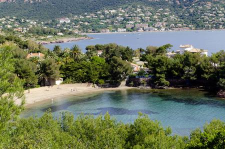 Little beach near Agay, french riviera