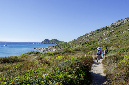 Cap taillat beaches, near to Saint Tropez, french riviera