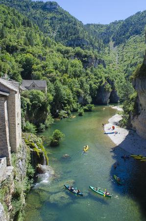 Gorges du Tarn, France, canoeing pleasures