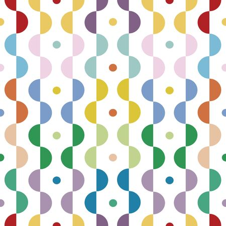 Modern geometric pattern, colorful.