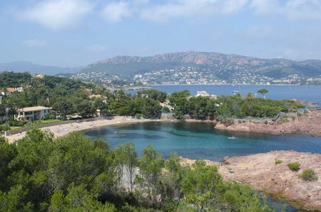 Bay of Agay near Cannes