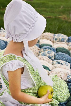 amish: Amish child