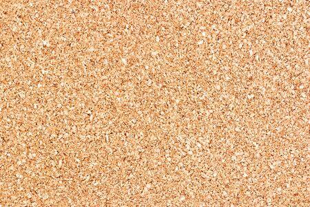 Macro of blank cork message board. Stock Photo