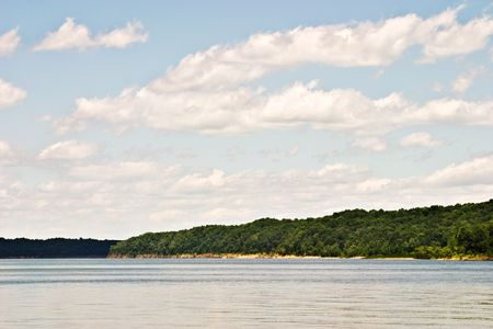 Green River Lake in south central Kentucky Stock Photo - 5184562