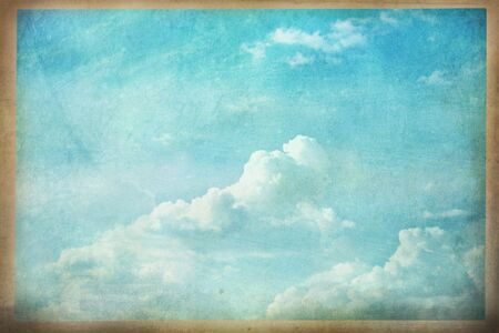 Abstract of a grunged cloudscape photo.