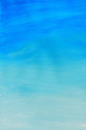Abstract blue aquarel geschilderd achtergrond