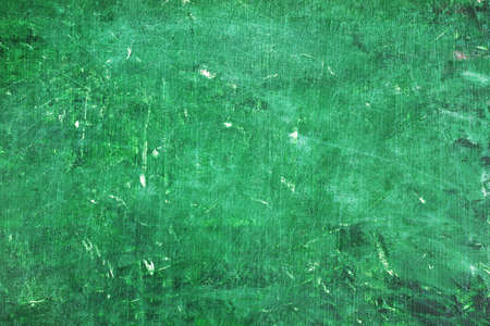 scratches: Grungy green background with scratches.