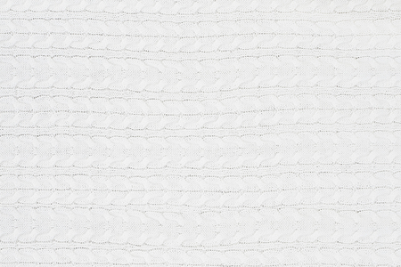 white fabric texture: Knit white sweater texture background.