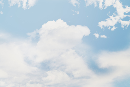 Beautiful abstract summer sky with clouds. Stock Photo - 80868754