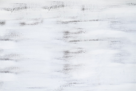 Hand painted white wood grain texture background. Stock Photo