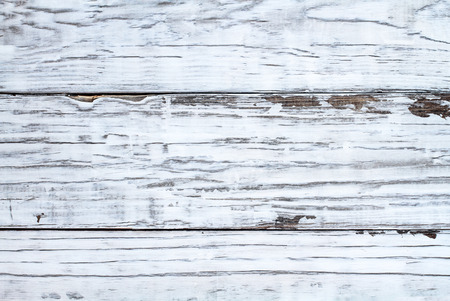 Bright white wooden texture backdrop. Image shot from overhead view. Stock Photo