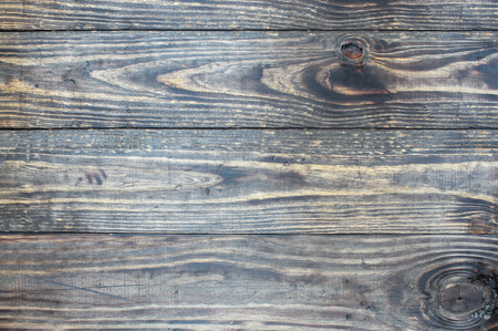 Distressed  wooden texture background  backdrop. Image shot from top in overhead view.