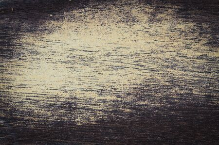 Abstract of dirty grunge background with vignette edges, lint and fibers. Roon for copy space.