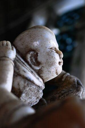 Child God Statue  Stock Photo