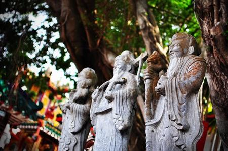 God Statue Stock Photo