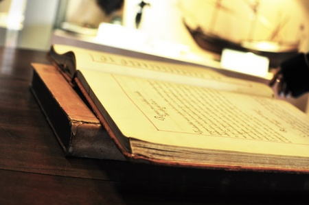 Old Book in museum