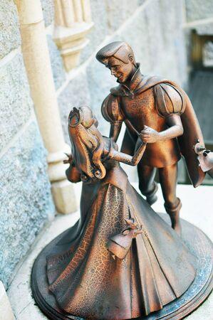 Prince and Princess Dancing