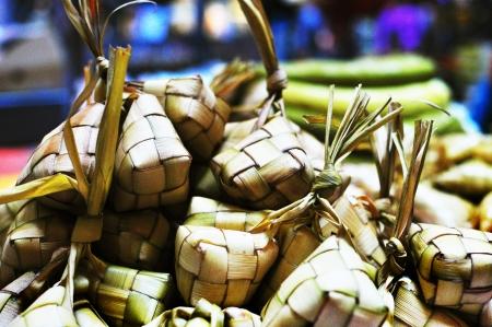 malay food: Ketupat For Buka Puasa