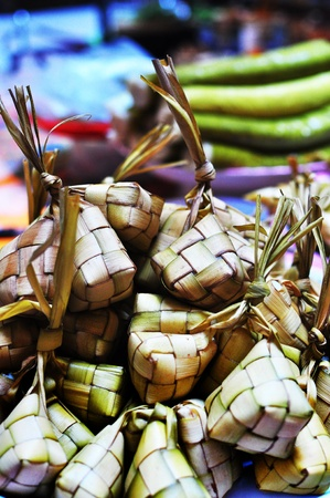 Ketupat In Bundle Stock Photo - 14773593