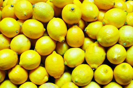 Yellow Lemon  Stock Photo