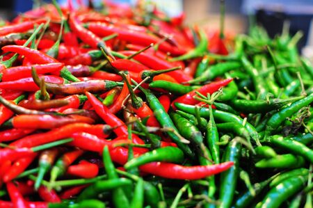 padi: Chili Padi For Sale Stock Photo