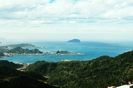Taiwan Jiufen Mountain View
