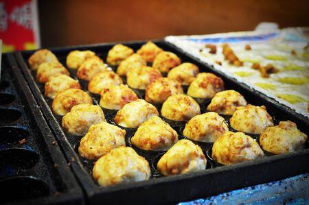 Taiwan street food, meat balls