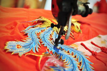Phoenix on chinese costume