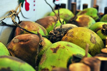 quencher: A bunch of young coconut