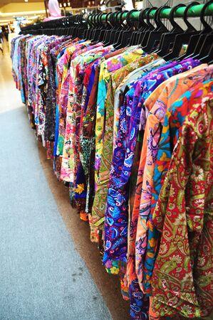 Baju Kurung for sale in a mall