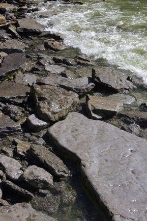 pepples: Beach Rocks Stock Photo