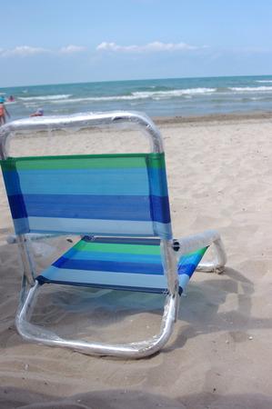 A beach on the beach photo