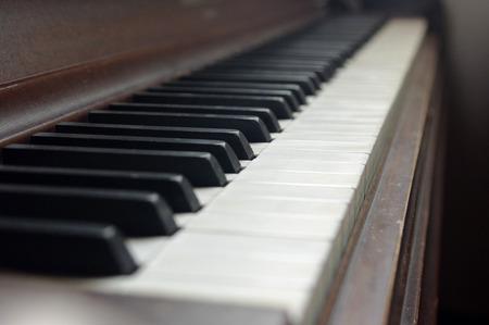 ebony: A close up of Piano