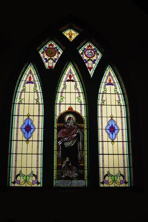 Vitrail église Banque d'images - 37082066