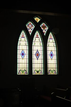 church window: Stained Glass Church window