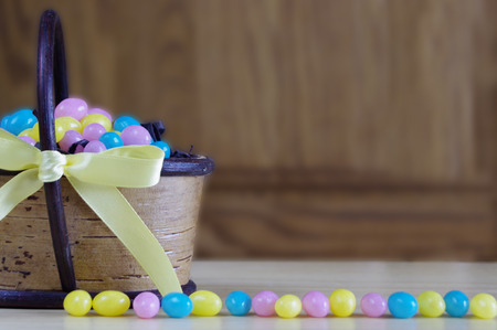 jelly beans: Easter jelly beans Stock Photo