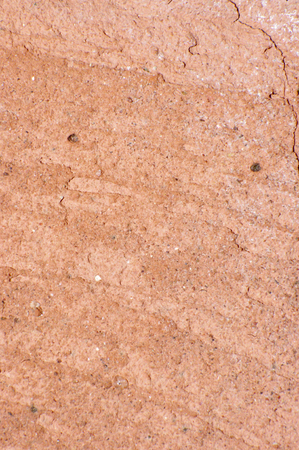 bumpy: close up of cracked red brick