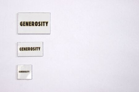 generosity: three generosity magnets