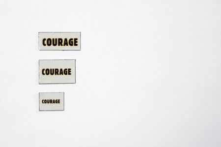 magnets: three courage magnets