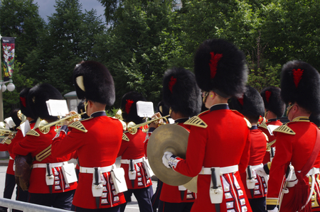 Canadian RCMP marching band