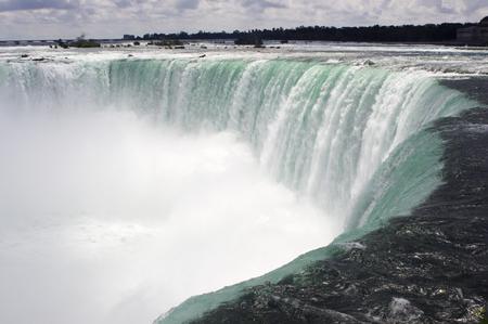 Close up of Niagara Falls