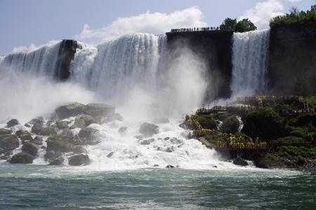 American Niagara Falls waterfall