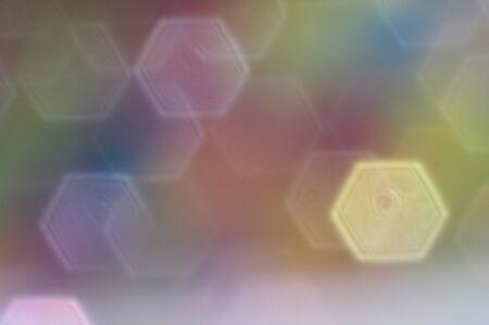Blurry hexagon geometric shape background Stok Fotoğraf