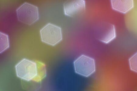 white Blurry hexagons geometric shape background Stok Fotoğraf - 140640947